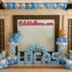 Light Blue and White Decors at Montebello