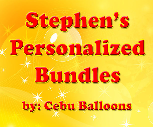 Stephen's Personalized Bundles
