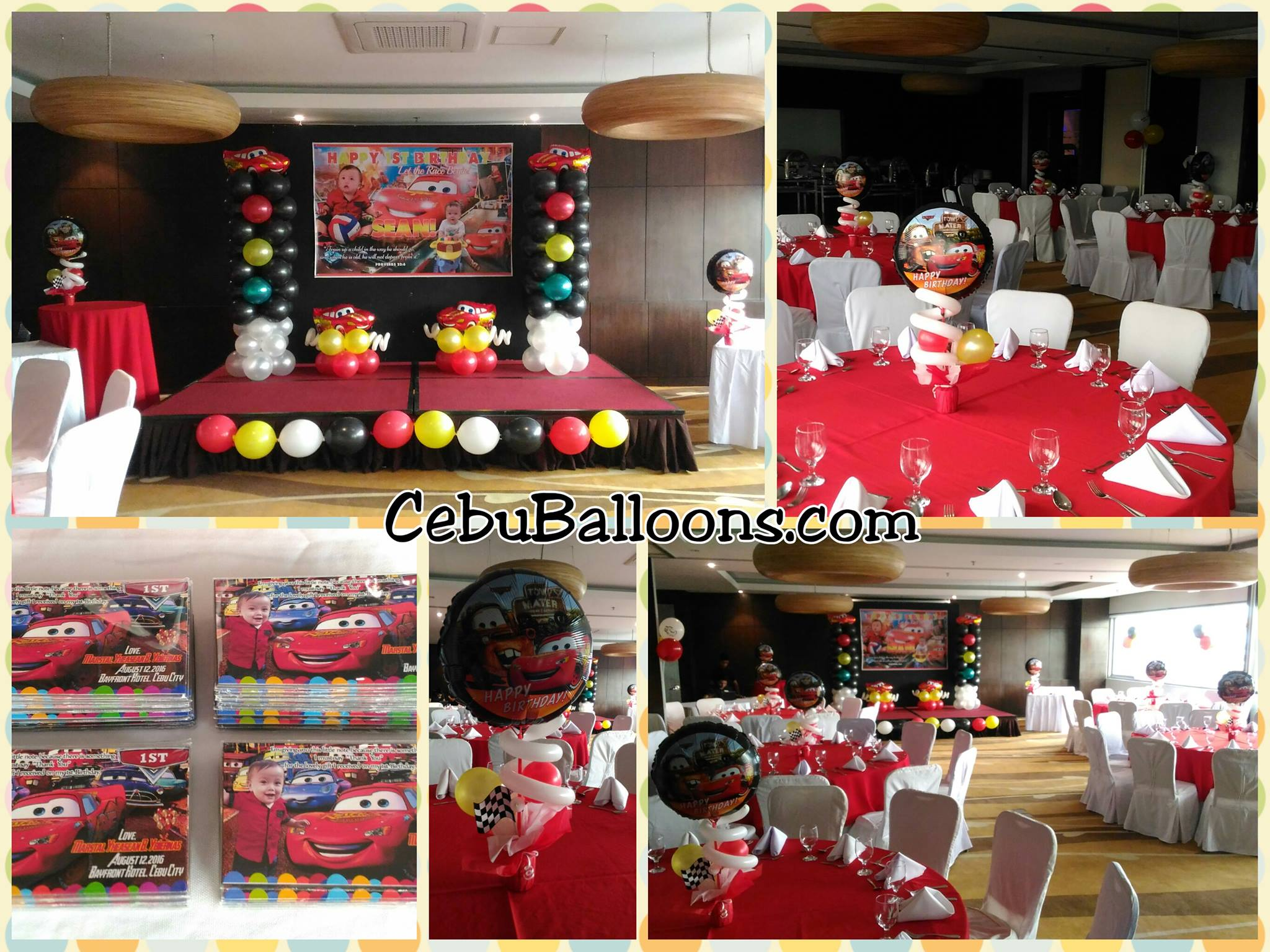 Sakto decoration packages cebu balloons and party supplies for Balloon decoration packages philippines