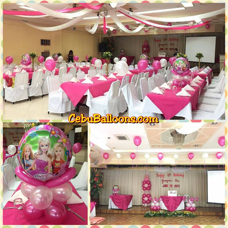 Barbie Themed Setup At Cebu Northwinds