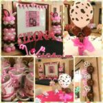 Cowgirl Balloons with Giveaways at Montebello Hotel