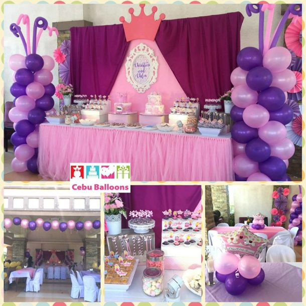 Little Princess Balloons and Giveaways