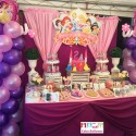 Disney Princess Dessert Buffet with Balloons