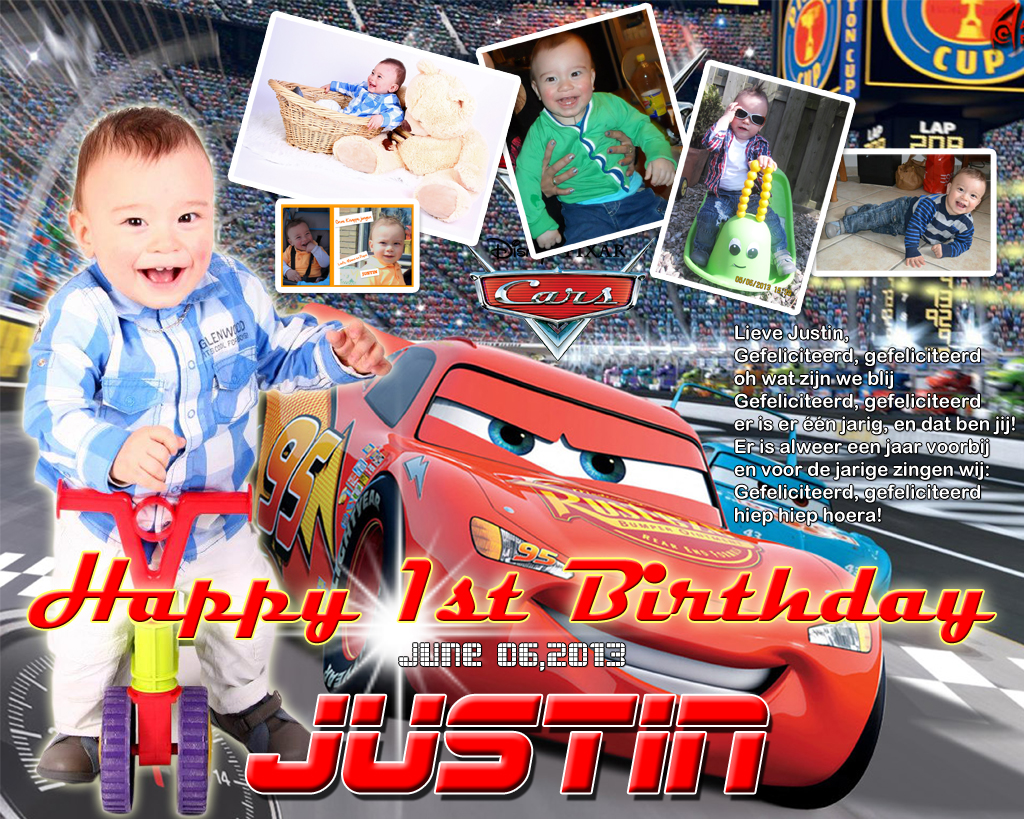 Justin S 1st Birthday Cars Theme Cebu Balloons And Party Supplies