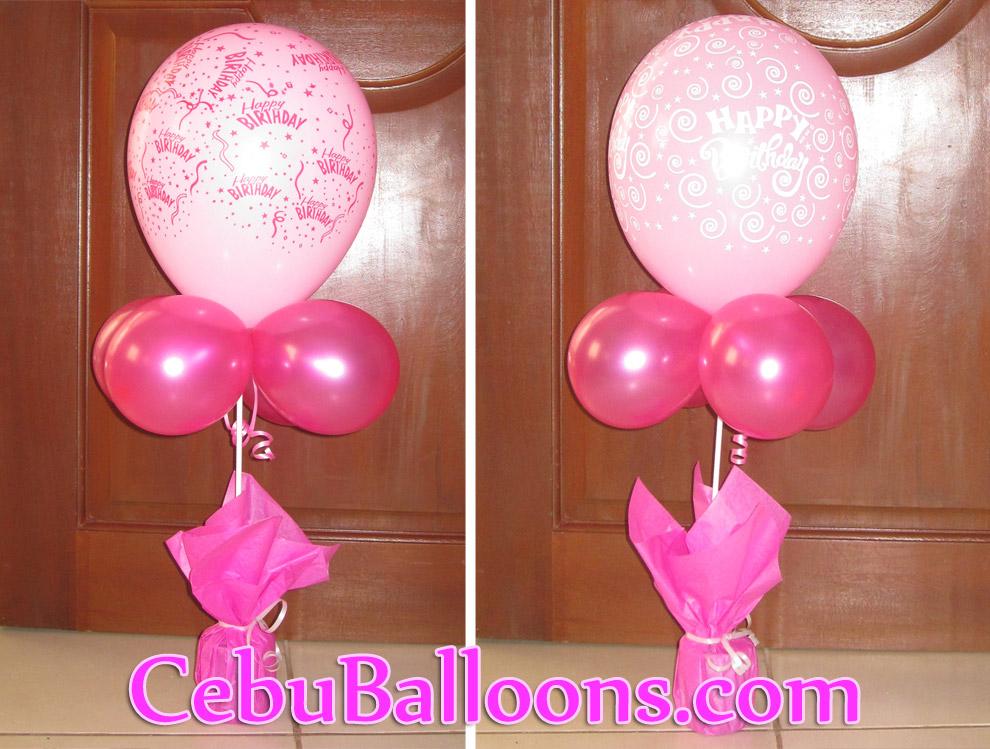 pre printed birthday centerpiece cebu balloons and party supplies rh cebuballoons com centerpiece ideas for birthday centerpiece ideas for birthday