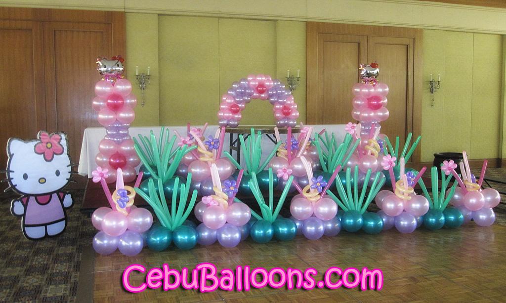 433bd64c9 Hello Kitty Balloon Setup at Casino Espanol de Cebu Grand Ballroom ...