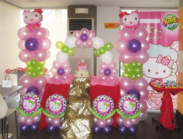 Hello Kitty Birthday Party At Jollibee As Fortuna Branch